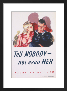 Tell Nobody - Not Even Her! by Anonymous
