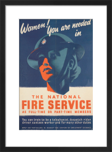 Women! You are Needed in the National Fire Service by Anonymous