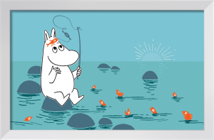 Moomin Fishing by Tove Jansson