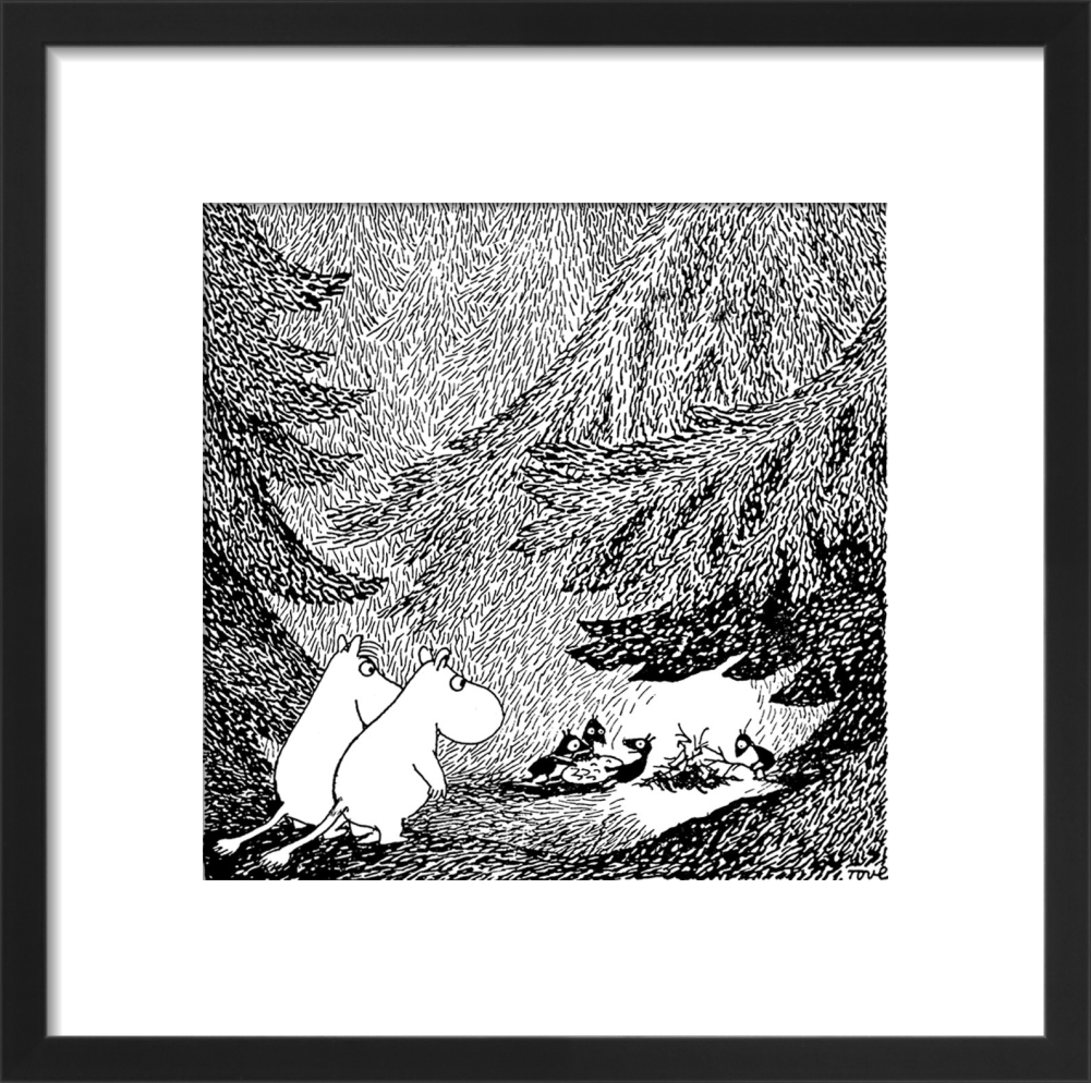 Moomins in the forest tove jansson