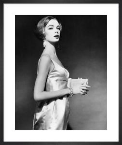Vogue April 1959 by Claude Virgin
