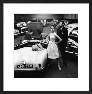 Vogue June 1959 by Claude Virgin