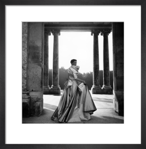 Vogue October 1948 by Clifford Coffin