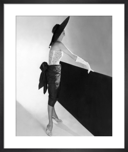 Vogue March 1950 by Don Honeyman