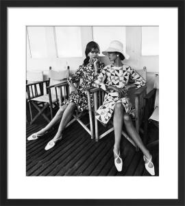 Vogue July 1966 by Eugene Vernier