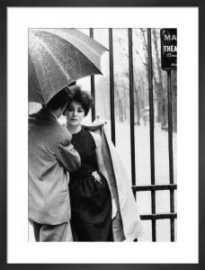 Vogue April 1961 by Henry Clarke