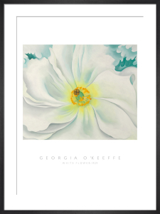 White Flower, 1929 by Georgia O'Keeffe
