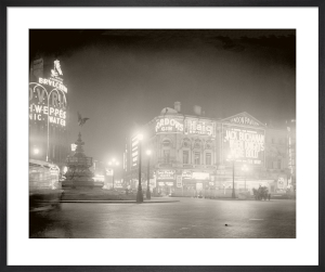 Piccadilly Circus, 1920s by Anonymous