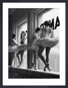 Ballerinas in Windows by Alfred Eisenstaedt
