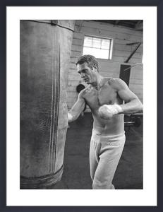 Steve McQueen - Boxing by John Dominis