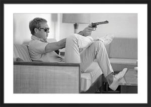 Steve McQueen - Take Aim by John Dominis