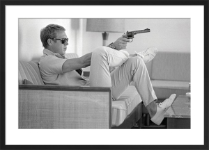 Steve McQueen - Take Aim by John Dominis