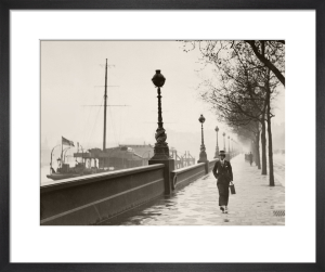 Man on The Embankment by Anonymous