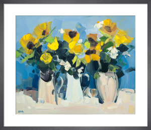 Sunflower Still Life by James Fullarton