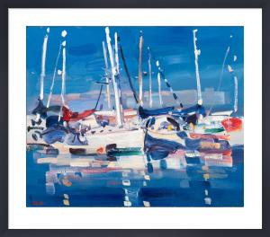 White Yacht by James Fullarton