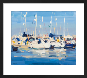 Yachts at Marina by James Fullarton