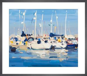 Yachts at Marina by James Fullarton