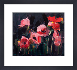 Pink Poppies by James Fullarton