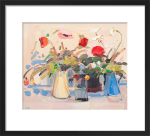 Still Life with Pink Poppy by James Fullarton