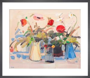 Still Life with Pink Poppy by James Fullarton