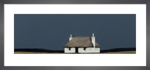 North Uist Cottage by Ron Lawson