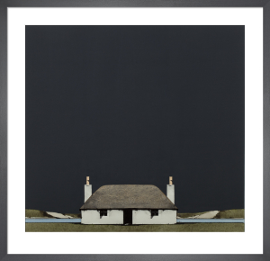 South Uist Cottage by Ron Lawson