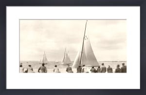 Solent Sailing Spectators by Anonymous