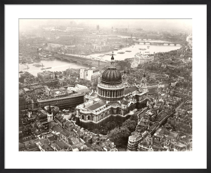 St Pauls from the air, late 1930s by Anonymous