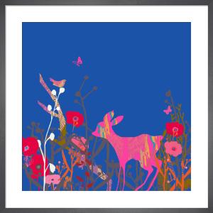 Little Bird and Deer Sky by Tiffany Lynch