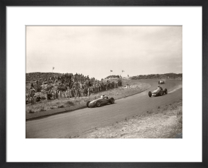 Cooper and Alfa at Zandvoort by Anonymous