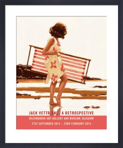 Sweet Bird of Youth - Retrospective 2014 by Jack Vettriano