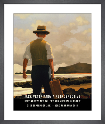 The Drifter - Retrospective 2014 by Jack Vettriano