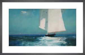 J Class in The Solent by John Harris