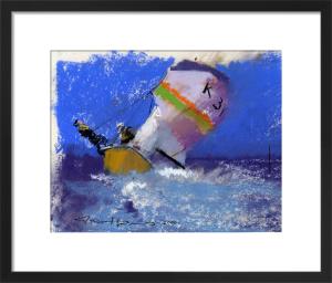 Early Yacht 2 by John Harris