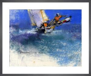 Early Yacht 1 by John Harris
