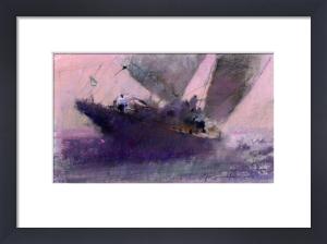 Late Sailing by John Harris