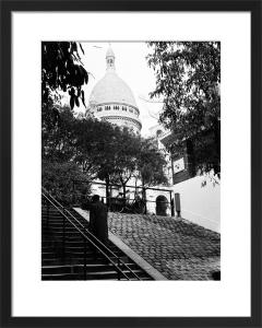 Sacre Coeur Steps, Paris 1963 by Alan Scales