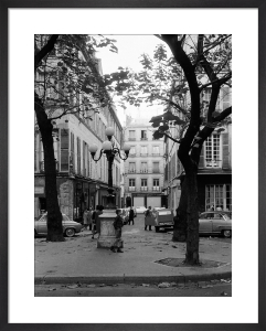 Autumn - Place du Fursternberg, Paris 1963 by Alan Scales