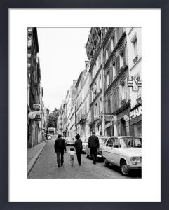 Street scene - Rue Tholoze Montmartre, 1963 by Alan Scales