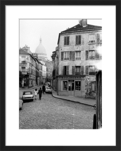 Boulangerie - Montmartre, 1963 by Alan Scales