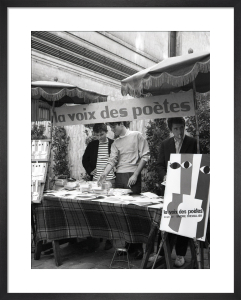 Poetry Market, Paris 1963 by Alan Scales