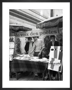 Poetry Market, Paris 1963 by Alan Scales