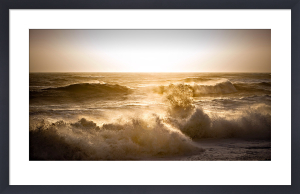 Storm Waves, Hastings by David Purdie