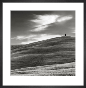 A Hill in Tuscany by Doug Chinnery