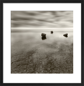 Three Rocks V by Doug Chinnery