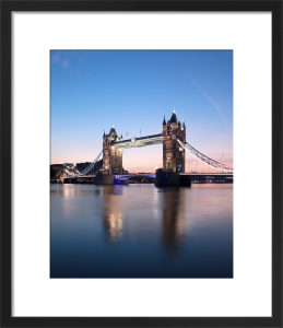Tower Bridge at Dawn, London by Doug Chinnery