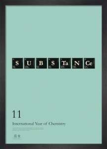 Substance - International Year of Chemistry 2011 by Simon C Page