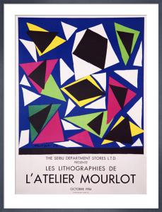 Les Lithographies de l'Atelier Mourlot, 1987 by Henri Matisse