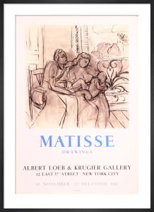 Albert Loeb et Krugier Gallery, 1967 by Henri Matisse