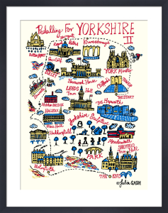 Pedalling For Yorkshire Stage 2 by Julia Gash